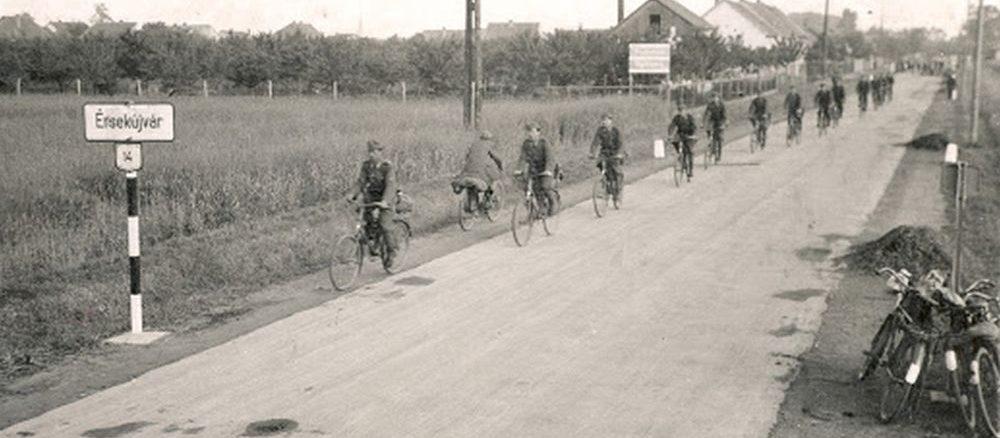 Magyar kerékpáros alakulatok